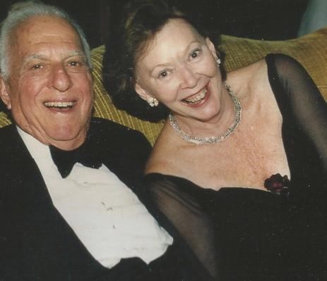 Oscar and Joan Straus